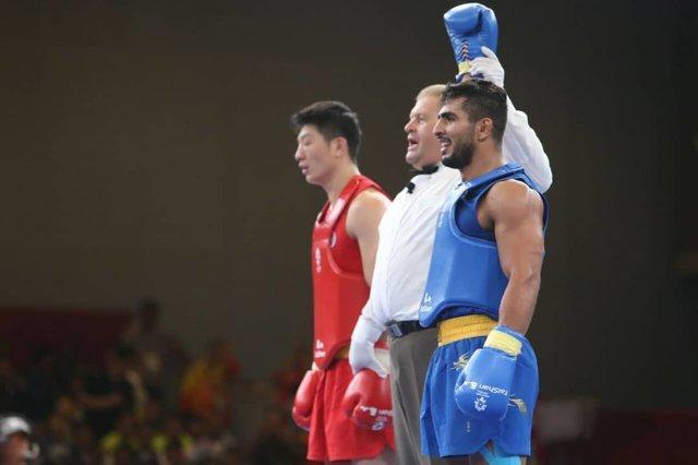 دومین طلای ووشو در جاکارتا، هت تریک محسن محمدسیفی در بازی های آسیایی