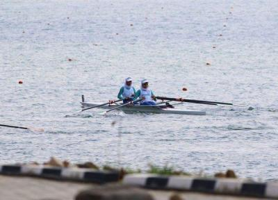قایق دو نفره بانوان به مدال برنز بازی های آسیایی رسید