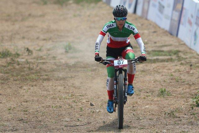 پرتوآذر در دوچرخه سواری کوهستان قهرمانی دنیا چهل و نهم شد