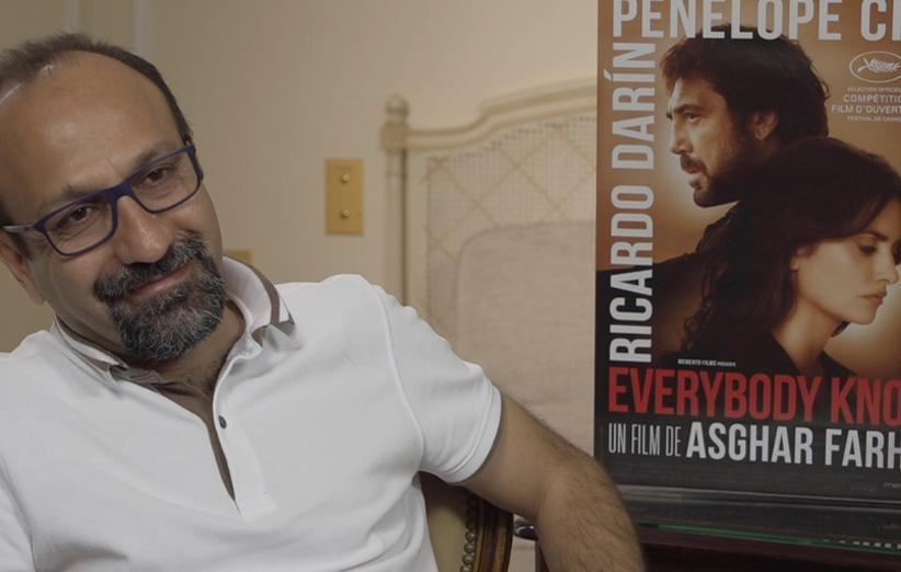 فرهادی از دانلود فیلم همه می دانند در ایران راضی است