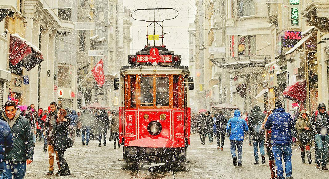 5 فعالیت از فعالیت های زمستانی استانبول