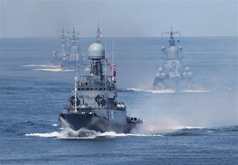 تأکید بر توان نیروی دریایی روسیه برای مقابله با هر تهدید