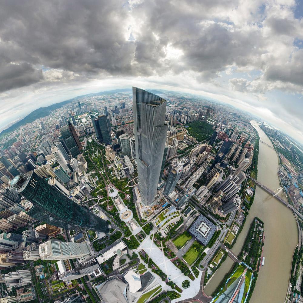 CTF برج مرکز مالی گوانجو