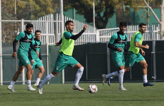 آخرین تمرین تیم ملی فوتبال ایران در تهران برگزار شد