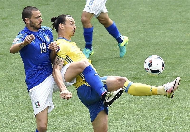 تساوی، حاصل کوشش ایتالیا و سوئد در نیمه اول