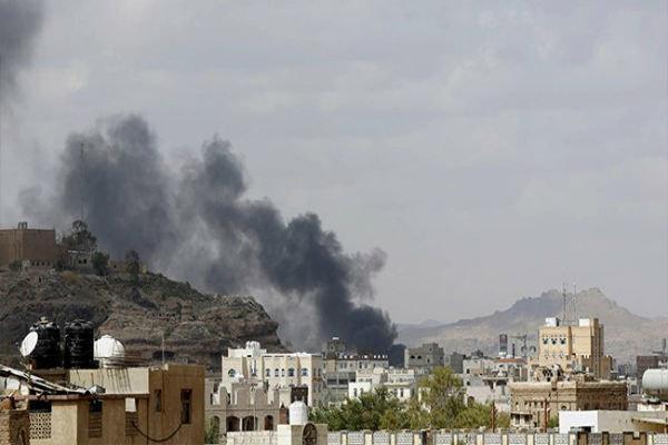 بمباران مناطق مسکونی صعده توسط جنگنده های سعودی