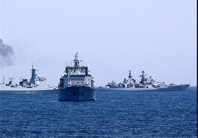 اولین رزمایش مشترک چین و روسیه در دریای مدیترانه