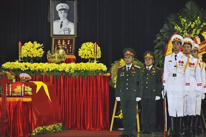 دومین روز مراسم تشییع ژنرال جیاپ