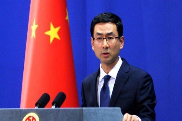 چین خواهان احترام به استقلال و تمامیت ارضی عراق و سوریه شد