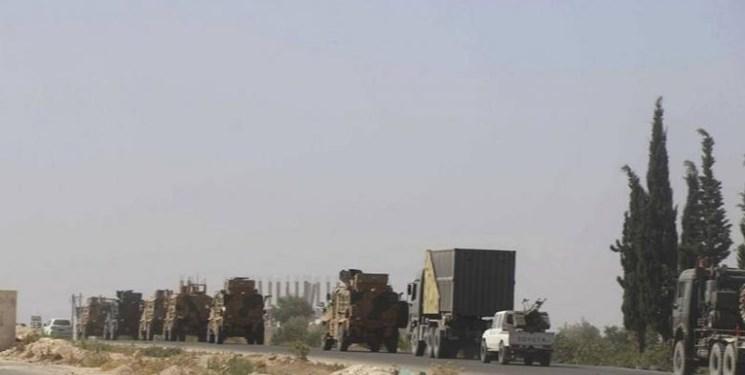 ورود کاروان نظامی جدید ترکیه به خاک سوریه