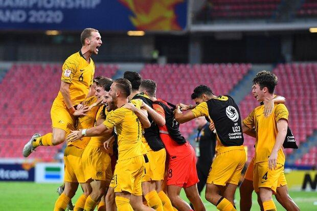 استرالیا با شکست رقیب ایران المپیکی شد