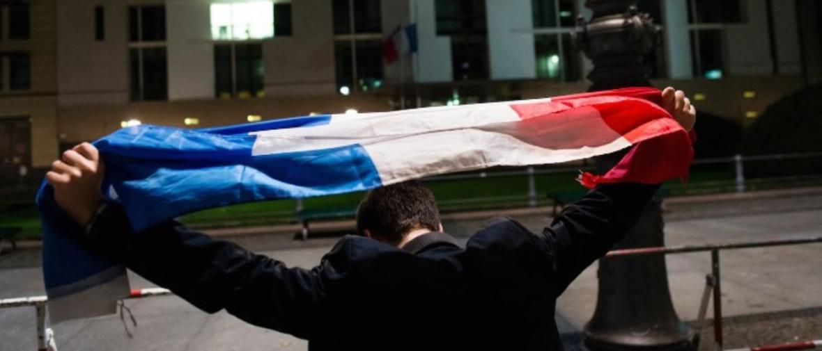 روایتی تصویری از لحظات پس از وقوع حادثه تروریستی در پاریس