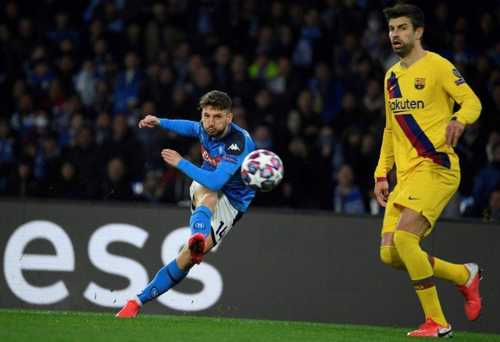 ناپولی 1-1 بارسلونا؛ طلسم ایتالیایی بارسا شکسته نشد
