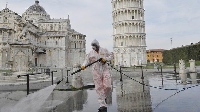 ایتالیا و کمترین میزان قربانیان کرونا