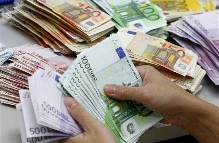 رشد قیمت رسمی یورو و 25 ارز دیگر