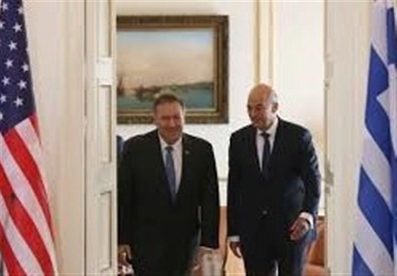 ملاقات وزرای خارجه آمریکا و یونان برای آنالیز تنش های مدیترانه