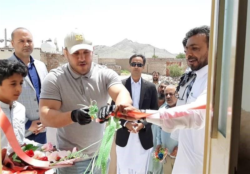 احداث یک مدرسه و تامین آب یک روستا در سیستان وبلوچستان توسط قهرمانان کشتی