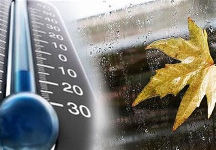 کاهش 7 تا 12 درجه ای دما در شمال کشور