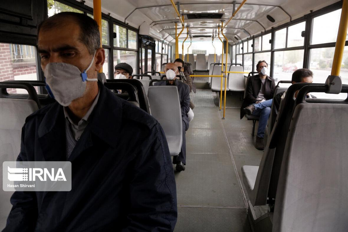 خبرنگاران مسافران اتوبوسرانی تهران یک میلیون نفر کاهش یافت