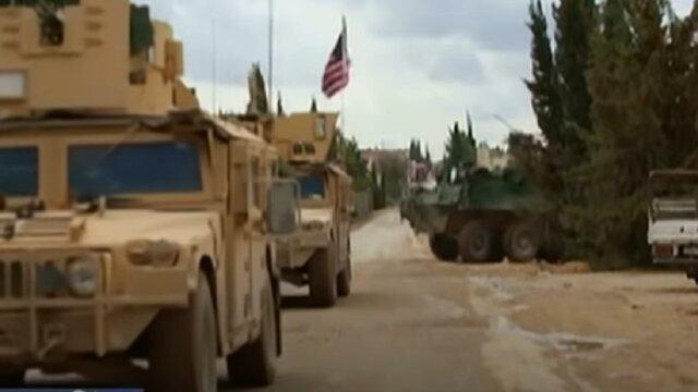 انتقاد روسیه از حضور آمریکا در شرق فرات