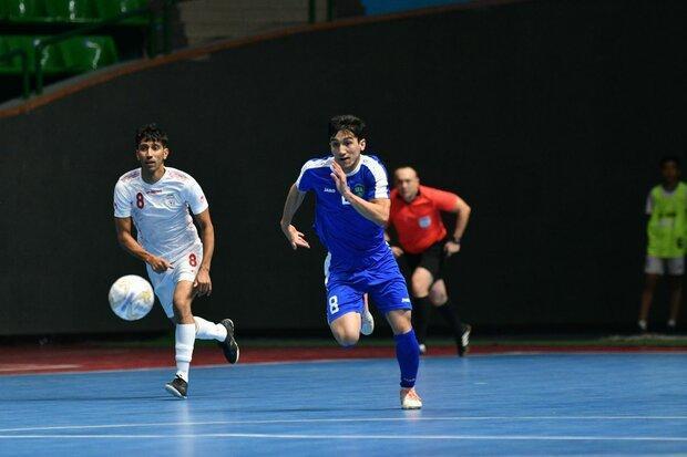 تیم ملی فوتسال ایران برابر ازبکستان به پیروزی رسید