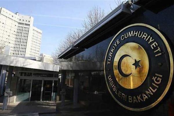 احضار کاردار سفارت فرانسه از سوی ترکیه