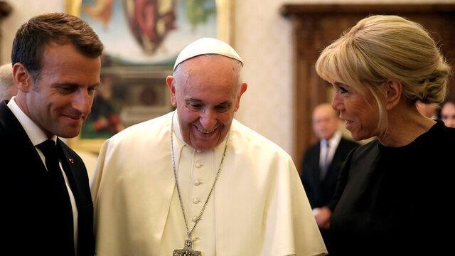 قول ماکرون به پاپ درباره مبارزه با افراط گرایی