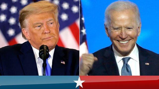 انتخابات آمریکا: بایدن 264-ترامپ 214، بایدن: صبور باشید!