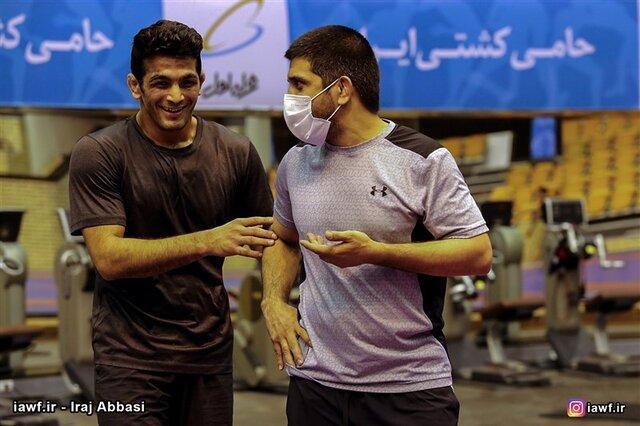 علیرضا دبیر در نقش سرمربی تیم ملی!، توصیه های فنی قهرمان المپیک به آزادکاران