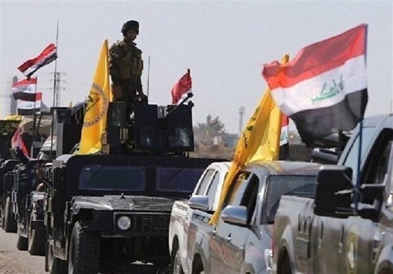 عراق، عملیات حشد شعبی در جنوب سامراء