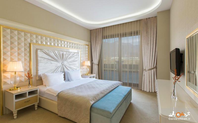هتل قفقاز اسپورت Qafqaz Sport Hotel، هتلی 5 ستاره در شهر قبله جمهوری آذربایجان