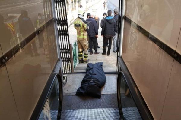 گیر کردن دست زن 75ساله در پله برقی منجر به مرگ شد