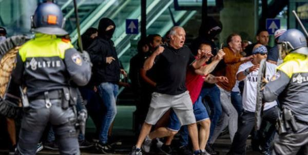 بازداشت بیش از 100 معترض به محدودیت های کرونایی در هلند
