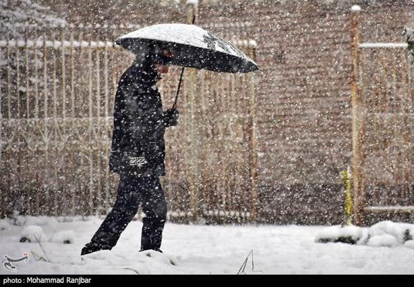 شروع بارش برف و باران در 22 استان، کاهش 10 درجه ای دما