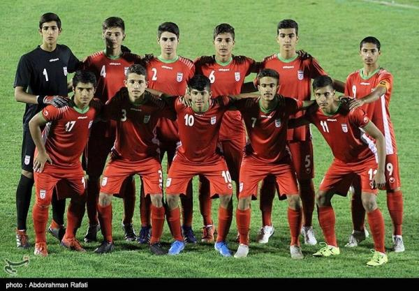 پیروزى پرگل تیم نوجوانان فوتبال ایران برابر تاجیکستان