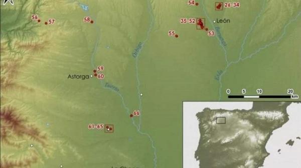 بقایای ده ها کمپ نظامی رومی در اسپانیا کشف شد