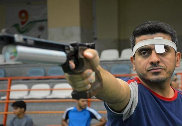 قهرمانی تیرانداز المپیکی کشورمان در هفته اول و دوم لیگ برتر تپانچه بادی آقایان