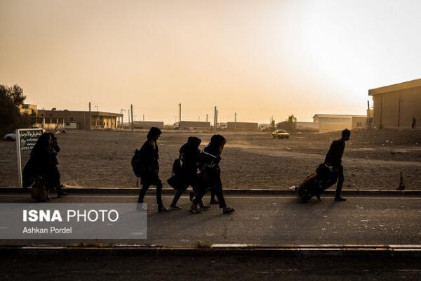 کاهش شدید تردد مسافران پیاده از مرزها به دلیل کرونا