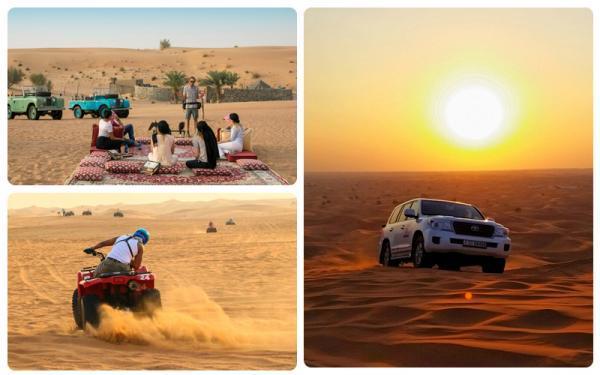 سافاری؛ گردشی خاص و متفاوت در دبی