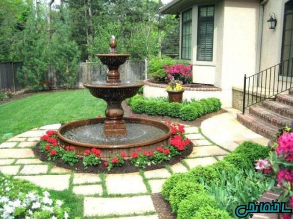 استفاده از انواع سنگ در طراحی باغ