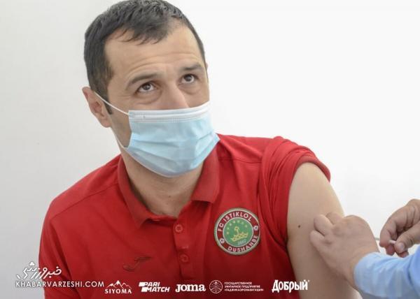 حریف پرسپولیس در آسیا واکسن کرونا زد