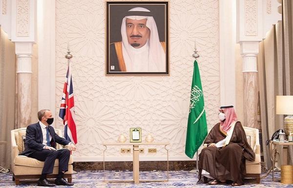 رایزنی بن سلمان و وزیر خارجه انگلیس درباره ایران