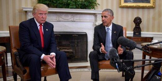 اوباما برای جلوگیری از نابودی برجام به ترامپ پیشنهاد داده بود که توافق را به نام خودش بزند!