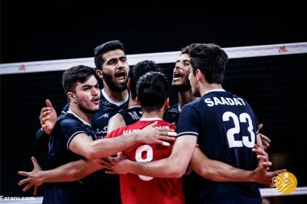ساعت بازی والیبال ایران - استرالیا به همراه معرفی رقیب